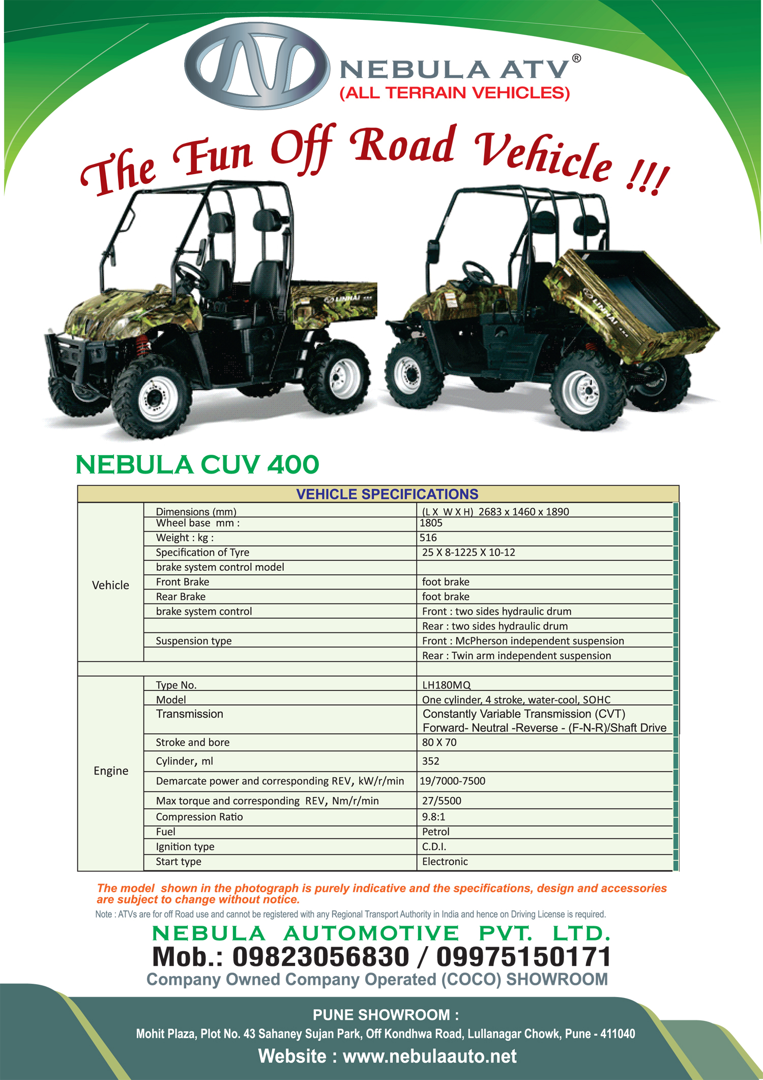 Manufacturers Of Agriculture Tractor, And ATVs, All Terrain